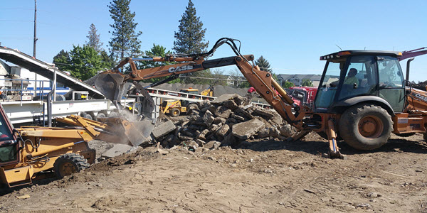Concrete Removal Spokane Concrete Contractor